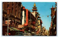 Postcard Grant Avenue - Chinatown, San Francisco, CA 1971 B54