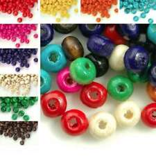 30g(800pcs Approx)Wholesale Wooden Round Wood Spacer Beads 3x4mm WB-01B