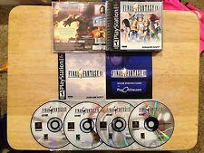 Final Fantasy IX Black Label Playstation 1 2 PS1 PS2 System Complete Game