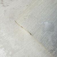 grayish white gray metallic rustic textured faux grasscloth Vinyl wallpaper roll