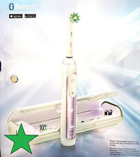 Oral-B Genius 8000 Electronic Bluetooth Toothbrush, Orchid Purple (RS821)