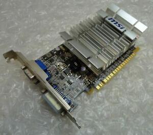 Genuine 512MB Nvidia N210-D512D2H GeForce 210 VGA DVI PCIe Graphics / Video Card