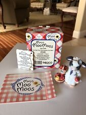"""Mary's Moo Moos 1998 """"I've Got the Prescription For Moo� Doctor Cow by Enesco"""