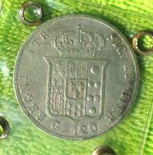 PIASTRA DA 120 GRANA 1846 FERDINANDO II DI BORBONE DUE SICILIE