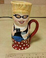 Los Vagas Tourist Slot Machine Lady 3D Coffee Mug Cup Ceramic Gambling Souvenier