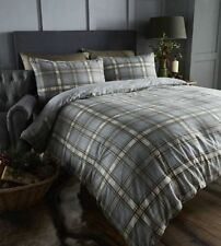 Cotton Blend Checked Bedding Sets & Duvet Covers