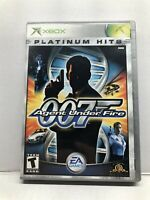 James Bond 007 in Agent Under Fire (Microsoft Xbox, 2002) Complete Tested