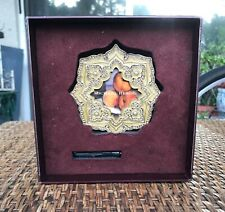 Collectible Michael Hero picture frame enameled with genuine pearls and crystals
