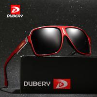 DUBERY Men Polarized Sport Sunglasses UV400 Outdoor Driving Fishing Glasses Hot