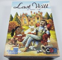 Last Will Board Game by Czech Games English Edition