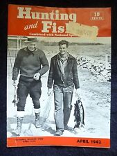 1942 The Hunting and Fishing Magazine
