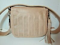 Steve Madden vegan leather beige wide shoulder strap purse stylish quality