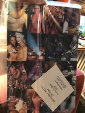NEW Vtg Equity Fights AIDS/Broadway Cares Broadway Bares Gift Wrap Paper Liner