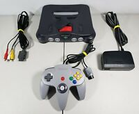 Nintendo 64 Console NUS-001(USA) With Expansion Pak + 1 OEM Tight Controller
