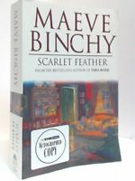 """Signed copy of, """"Scarlet Feather"""" By Maeve Binchy"""