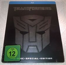Transformers (2010, Germany, Region Free) 1st Print Steelbook NEW