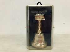 Vintage Mount Vernon Silver Plated Bell with Case Made in UK