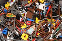 LEGO® Minifigs Figuren - 50 Stk. gemischtes Zubehör - Waffen Werkzeug Utensilien