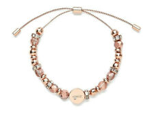 Mimco Tidal Rose Gold Beaded Wrist Bracelet BNWT