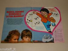 CARTONE ANIMATO MARCO clipping articolo fotografia 1983 AT10 APPENNINI ANDE