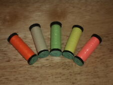 LOT of 5 Spools Kreinik Blending Filament GLOW IN THE DARK! 051F, 052F, 053F +