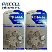 12x PKCELL  A675 PR44 7003ZD 675SA Hearing Aid 1.4v Battery Batteries