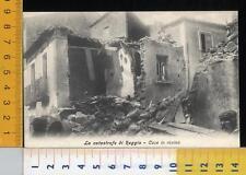 47082] REGGIO CALABRIA - TERREMOTO 1908 LA CATASTROFE DI REGGIO - CASE IN ROVINA