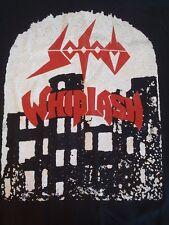SODOM WHIPLASH Tour Shirt Kreator Destruction Exodus Slayer Possessed Metallica