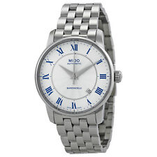 Mido Baroncelli Automatic White Dial Stainless Steel Mens Watch M86004211-AU