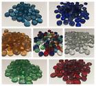 Decorative Glass Pebbles Stones Gems Flat Nuggets Marbles Wedding COLOURS&QTYS