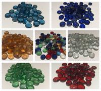Decorative Glass Pebbles Stones Gems Vase Nuggets Marbles Wedding COLOURS&QTYS