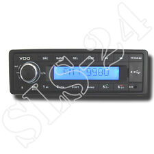 Vdo tr723ub-bu 24v 24 volts Bluetooth rds-tuner mp3 wma usb Camion Bus Camion radio