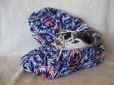 Mets  MLB. Men's size 10-12. Cotton, lined with vinyl soles.