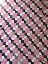 Vintage early 20th century QUILT,  BOW TIe- modern look