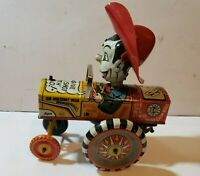 Marx Milton Berle Wind Up Whirl & Twirl Tin Lithograph Toy