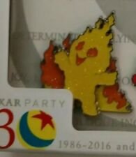 PIXAR Party Event EPCOT Disney INCREDIBLES Flaming Baby JACK JACK Fire Pin LE