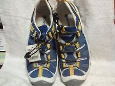 NEW CONTACT SPORT TENNIS SHOES SIZE 8 D LEATHER UPPERS AND NON-MARKING SOLES