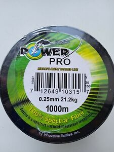 0.01 in 45.2 lbs 1093 yd 1000 m Power Pro braided fishing line GREEN REAL FOTO