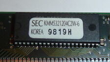 NEW Samsung KMM5321204C2W-6 MEMORY MODULE,DRAM,EDO,1MX32,CMOS,SSIM,72PIN,PLASTIC