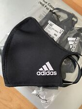 Single Adidas Face Cover Mask (1) mask Black Sz M/L New 100% Authentic ! Sealed