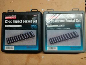 Craftsman Impact Socket Sets