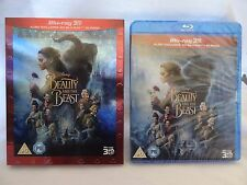 Beauty and the Beast 3D [2017](Blu-ray 3D+2D Region-Free)~~Slipcover~~NEW SEALED