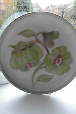 Denby Troubadour Dinner Plate 26 cm Stoneware Green British Stoneware