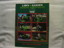DEUTZ ALLIS LAWN/GARDEN RIDING TRACTOR BROCHURE