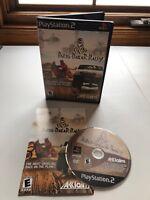 Paris-Dakar Rally (Sony PlayStation 2, 2001) PS2, Complete w/ Manual, VG