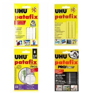 UHU Patafix Propower Adhesive Glue Putty Pads Removable Reusable Sealed Nontoxic