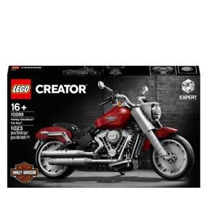 LEGO 10269 Creator Harley-Davidson Fat Boy Building Set New & Sealed FREE POST