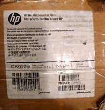 """HP Backlit Polyester Film for Latex and UV Cured Inks - 54"""" x 100' CR662B"""