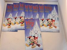 """2014 MICKEY'S VERY MERRY CHRISTMAS PARTY MAPS - 9 """"NEW"""""""