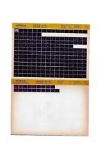 HONDA CR125 1990 a 1995 MICROFICHE HONDA CR125R 1992 CATALOGUE PIECES DETACHEES